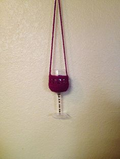Free Pattern Crochet Wine Glass Holder : 1000+ images about Crochet - Wine glass cosy patterns on ...