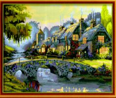 DF 051 - Great House Beside River Rp 227.000,-  Canvas size: 40 x 50 Packaging size: 41 x 51 x 3,5 cm (setara 2 kg)  ALICE painting kit sudah termasuk - Kanvas pattern lukisan yg dibuat dari high grade cotton dengan tekstur halus. - Cat pigment warna yg ramah lingkungan, tidak beracun dan tidak cepat pudar. - Beberapa kuas nylon. - Kertas manual kode warna  Email: jjbigstore@yahoo.com Path: Silvblue Shop Instagram: @silvblue Line: silvblue SMS: 0818 0832 9022 WhatsApp 0896-2860-9094