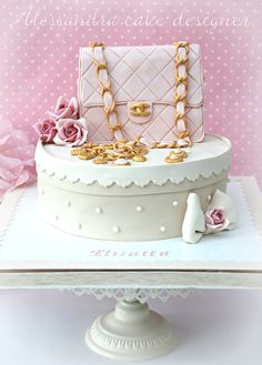 Cake Fashion Chanel