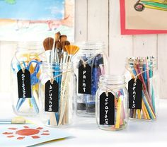 Hanging Twine Chalk Sign Set | Pottery Barn Kids $11.60