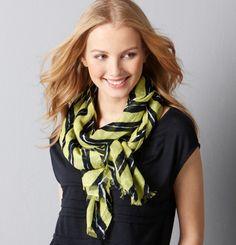 $34 scarf via TallGirlTales