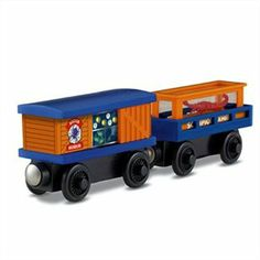 Thomas and Friends Wooden Railway 2 Pack - Crawling Critters Cargo Car