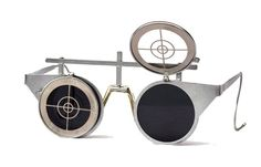 Metal flipup steampunk sunglasses . Vuelven las gafas flip-up pero con aires steampunk #coolhunting #gafas
