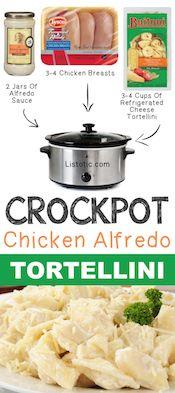 Crockpot-Chicken-Alfredo-Tortellini