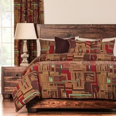 Mission Statement 6-piece Duvet Cover and Insert Set   Overstock.com Shopping - Great Deals on Duvet Covers