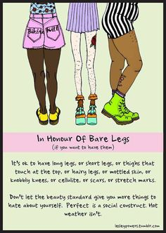 In honour of bare legs ( If you want to have them)