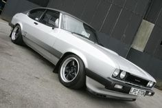 Ford capri.  I was 19, he was 21  this earned hubby serious brownie points when he picked me up for our first date.