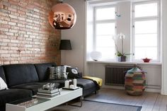 Cestos de Senegal (mes caprices belges: UN APARTAMENTO URBANO Y CHIC / AN URBAN AND CHIC APPARTMENT)