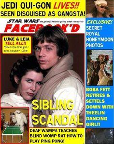 Ni Star Wars se salva de los tabloides. :-/