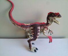 Jurassic Park III Re-Ak-Atak Electronic Alpha Velociraptor raptor figure JP 3 #Hasbro