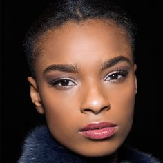 luminous eye makeup and REALLY good brows