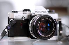 Lisa had one of these: Olympus OM-10