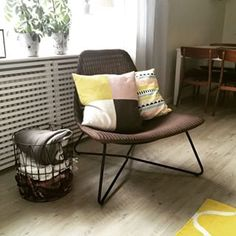 rådviken ikea - Google Search Small Living Rooms, Living Room Decor, Yellow Sofa, Ikea Furniture, Interior Design Inspiration, Decor Styles, Outdoor Chairs, New Homes, Ikea Ideas