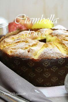 Unavená vařečka: Ciambella di mele Eastern European Recipes, Apple Dessert Recipes, Apple Pie, Tea Time, French Toast, Food And Drink, Treats, Breakfast, Sweet