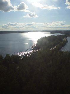 Punkaharju, beautiful place in Finland