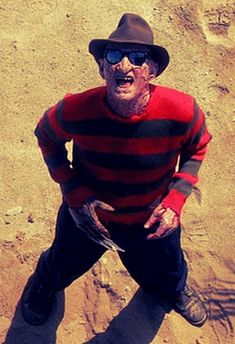 Freddy at the beach.