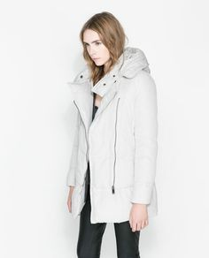 Image 2 of CONTRAST ANORAK from Zara