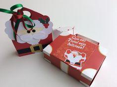 Caixinhas personalizadas de natal. Encomendas 49 3567-0204
