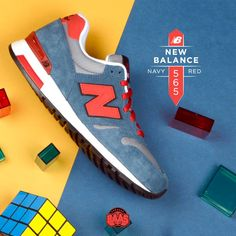 0ab611701885  newbalance  nb565  newbalance565  navyred  sneakerbaas  baasbovenbaas New  Balance 565 Navy Red - Now available online