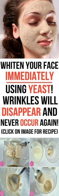 Use Yeast to Whiten Your Skin Immediately! Wrinkles will Disappear and Never Occur Again #beauty #mask #wrinkles