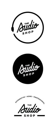 The audio shop logo