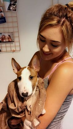 Lauren and Moose! <3  @laurdiy