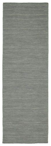 Κιλίμ loom - Σκούρο γκρι 80x250 - RugVista
