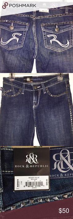 💥NWT! Rock & Republic Bootcut Jeans💥 NWT! Rock & Republic Bootcut Kasandra Jeans! Listing price includes tax paid Rock & Republic Jeans Boot Cut