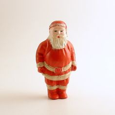 Vintage Christmas Decoration Irwin Santa Claus by efinegifts