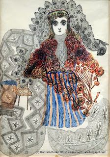 La inteligencia, 1947 (saw this artist's work at Reina Sofia over a year ago and it's pretty tough to find any information about her anywhere) Outsider Art, Illustrations, Illustration Art, World Painter, Bad Art, Art Brut, Naive Art, Visionary Art, Teaching Art
