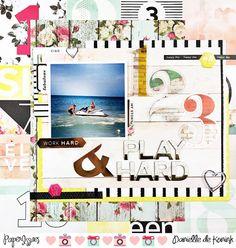 Paper Issues: Product Spotlight: Pink Paislee C'est La Vie @daniellekonink