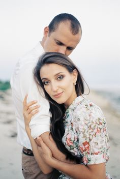 Engagement session for Andrey and Elena by the sea 🌊