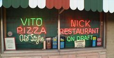 Vito & Nick's Pizzeria Chicago, IL - Thin crust pizza in a deep dish town. Italian beef, breakfast pizza, pepperoni, etc.