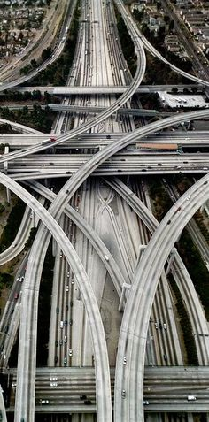 Southern California has excellent freeways!