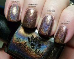 Comparison Request: Emily de Molly Ground Control vs Enchanted Polish Hot Chocolate | Pointless Cafe