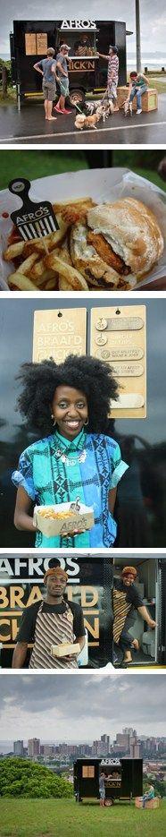Durban's hip new food truck, Afro's Braai'd Chick'n
