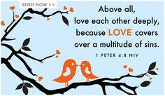 Above all Love - Ecard