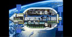 The Bigelow Aerospace station design; this could be the commercial space station of the future.