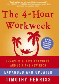 The 4-Hour Workweek by Tim Ferriss - – 40 High-Impact Books for Entrepreneurs [Giveaway] #Shopify