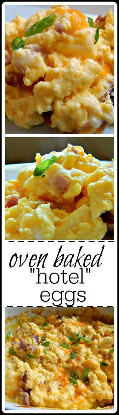 These eggs are so fluffy and perfect - they feed a crowd and free up your stovetop for other breakfasty things.
