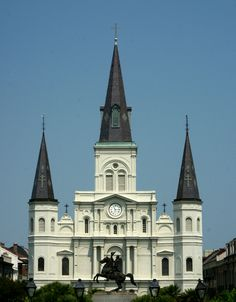 New Orleans~Jackson Square~St. Louis Cathedral