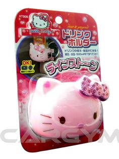 Hello Kitty Pink Cup Holder