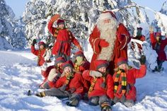 Rovaniemi: Lapland's most famous resident needs no introduction.