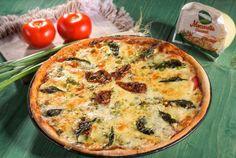 Retete Culinare - O pizza de te lingi pe degete Pizza, Mozzarella, Quiche, Deserts, Breakfast, Food, Italia, Morning Coffee, Essen