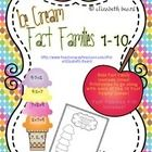 Build Fact Family Icecream Cones! Printables to go along with each of the 10 Fact Family Cones so to extend learning and thinking! Children can record their fact family and then create another fact family with that number :)  This is a fun and interactive way for little learners to practice fact families. Use as a center, small group, or independent workbox activity!  Fact Families 1-10 Included!