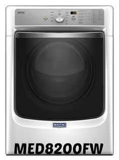 MED8200FW  MAYTAG LARGE CAPACITY DRYER