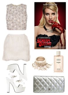 """Chanel Oberlin Style"" by jepple15 ❤ liked on Polyvore featuring SPURR and Chanel"