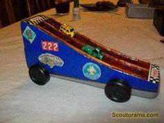 pinewood derby car ideas | Bear Den Car Pinewood Derby ® Car Photo Contest 2009 at Scoutorama ...