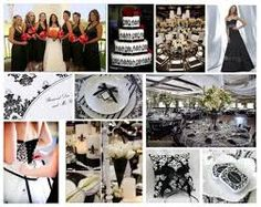 black and white wedding - Google Search