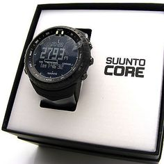 NEW Suunto Core All Black Military Outdoor Sports Watch SS014279010 | Jewelry & Watches, Watches, Parts & Accessories, Wristwatches | eBay!